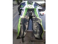 Dainses 2 peice motor bike leathers
