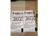 Chessington World of Adventures 18 july
