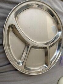 4 x thali plates