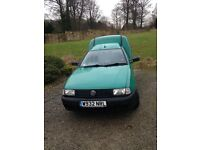 VW Caddy , lovely condition . Drives great , new battery. Full Mot , insulated and ply lined .