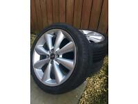 Alloy wheels/ 4 good tyres