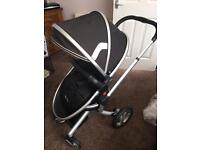 Silver cross surf 2 travel system with accessories and Isofix