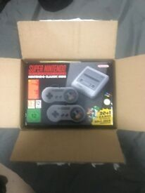 SNES Mini Classic - Super Nintendo Mini Classic Brand New - Never Opened Sold Out Everywhere