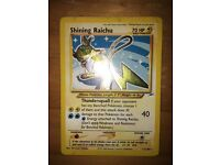 Shiny pokemon cards