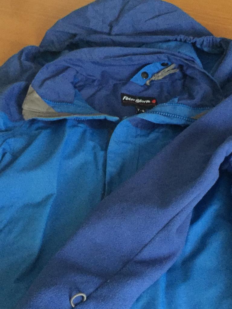 Boys 3 in 1 waterproof coat age 7-8
