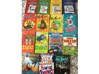 Children's books,. Mr Gum, Diary of a Wimpy Kid