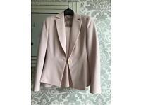 Dusky pink Dorothy Perkins suit size 10