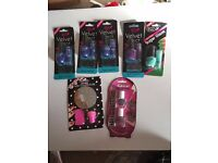 Bundle Of Nails Indulgence: Stamping Kit, Velvet Effect Nails Art Decorations