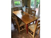 Table & Chairs - Dining Room