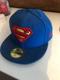Superman new era hat worn once