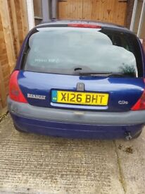 Renault cilo 2001 1.4 spares and repairs