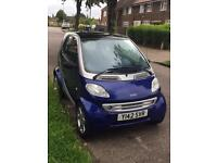 LHD MERCEDES Smart CAR ForTwo LEFT HAND DRIVE UK REGISTERED NEW MOT
