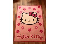 Hello Kitty Rug 93cm wide and 130 cm in length