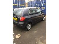 58 plate Hyundai Getz 1.1 petrol 5dr in metalic grey only 2 previous owners motd til oct18 £650