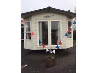 Static Caravan For Sale 12 Month Park ** FRENCH OPEN DOORS**