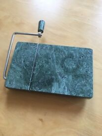 Green marble wire cheese cutter