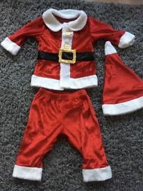 Baby Santa outfit 3-6 months from M&S
