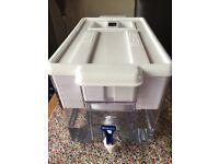 Brita XXL Optimax Cool Fridge/Counter water filter 8.5l plus 4 cartridges