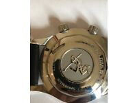 Very rare NO DATE Longines Legend Diver. Model Number L3.67.4.4.