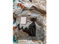 Ladies cat jumper from next size 16
