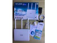 TP LINK Archer D9, AC 1900, ADSL2+ Modem Router