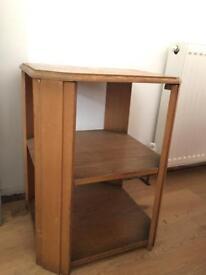 Oak side table 1930's