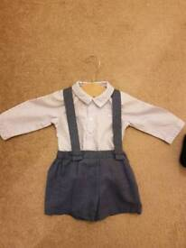 boys mayrol outfit 2-4months