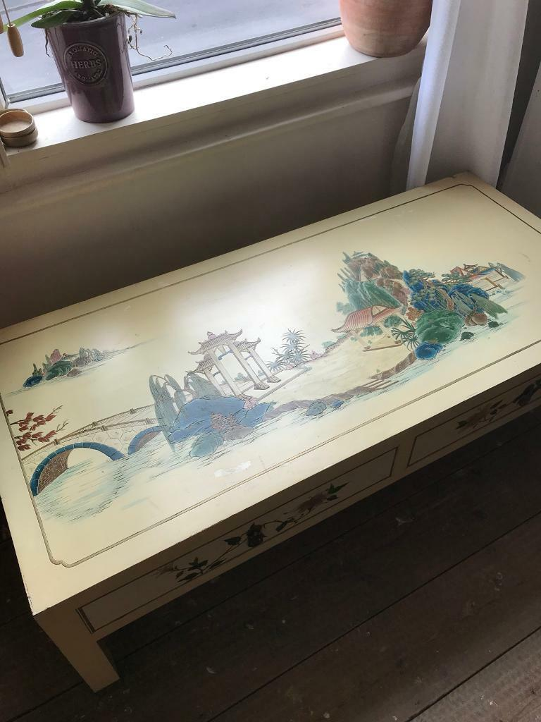 Beautiful Oriental Side Table/Low table
