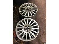 Ford Mondeo ST 5x108 18 inch alloys