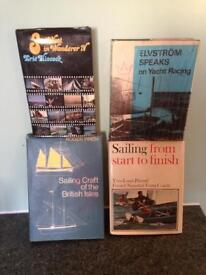 Collection of sailing and other books
