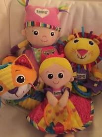 Collection of LAMAZE baby toys