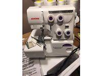 Janome 8002DX Overlocker Sewing Machine