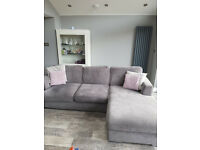 4 seater L shaped sofa