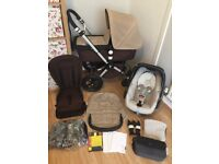 BUGABOO CAMELEON Full Travel System with**MAXI COSI PEBBLE**EXTRAS