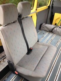 Vw T4 Transporter Front Double Seat