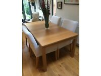 Ikea extendible table and chairs