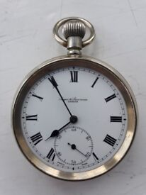 Old Saqui and Lawrence Pocket Watch