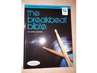 Drum Tuition Books: The Breakbeat Bible, Drum Method & Stick Control