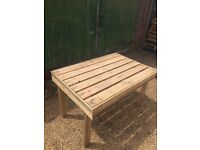 Recycled Timber Table and Stools