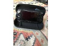 Sony PSP 3000 slim in black