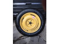 Honda CRV mark 3 Space saver wheel and tyre