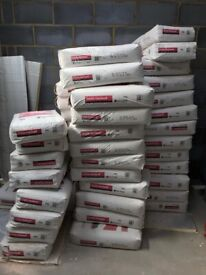 HARDWALL PLASTER - THISTLE 25KG - 39 bags - In Date - Expires 18/11/2020