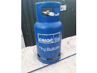 7kg butane gas bottle full