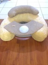 Baby cushion mamma and papa