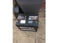12 Volt Numax 75Ah Sealed Leisure Battery