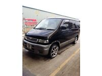 Mazda bongo ready for the summer jump in away you go