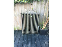 Cast iron radiator for sale 700mm wide x 900mm high