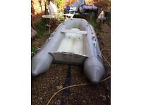 Avon Rib Boat with 9.9 Yamaha outboard