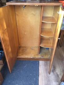 Small Retro Wardrobe with shelving