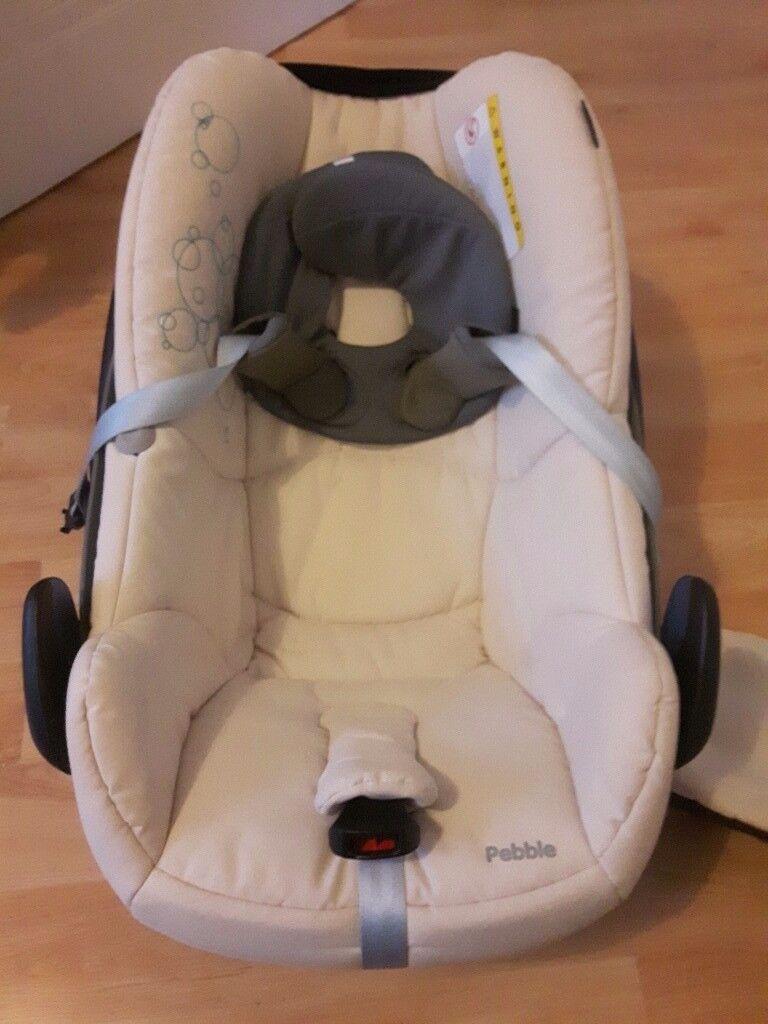 Car seat maxi cosi pebble limited edition